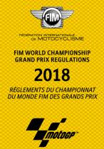 Foto Reglamento fim motoGP 2018