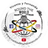 Logo Vuelta al Mundo en Moto